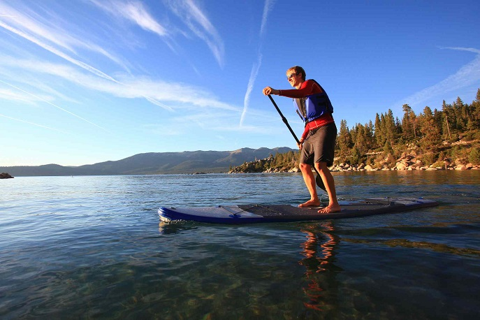 Touring Lake Tahoe Basin